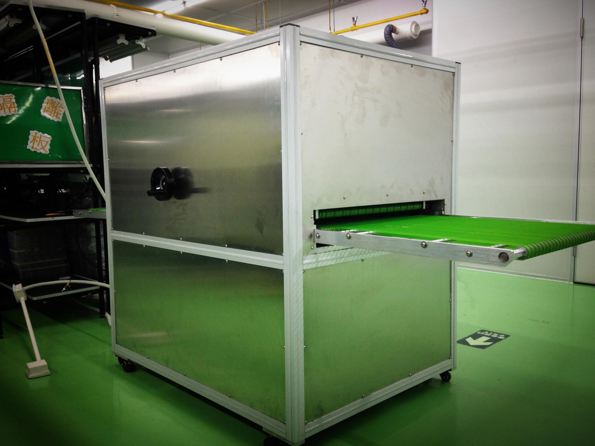 光学产品吸塑盒静电除尘设备