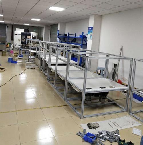 塑胶件表面除尘设备厂家生产车间