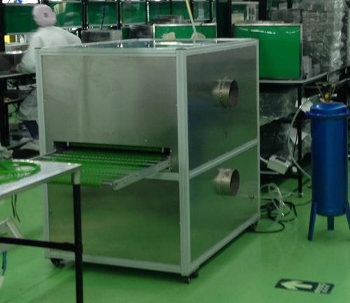 吸塑托盘除尘设备在电子厂的应用