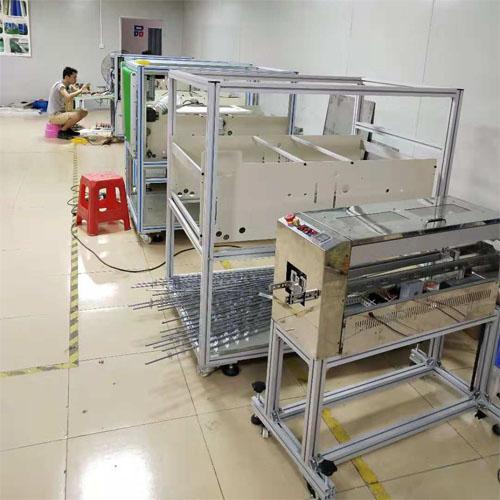 东莞吸塑托盘盒除尘设备厂家安装现场