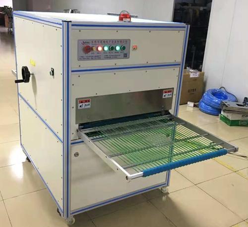 思瑞电子静电除尘设备生产现场