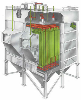 大型高压除尘器设备